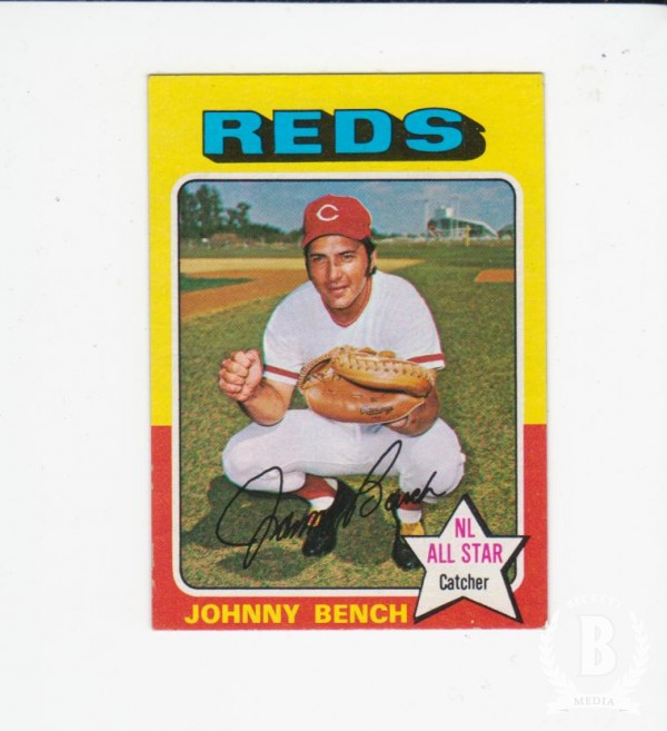 1975 Topps Mini #260 Johnny Bench