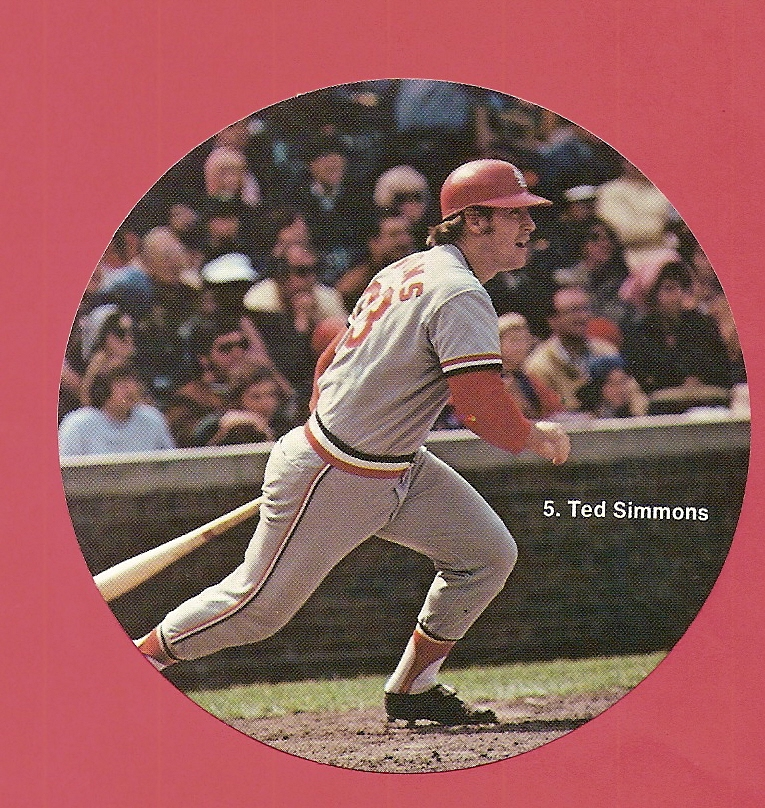 1976 Sportstix #5 Ted Simmons