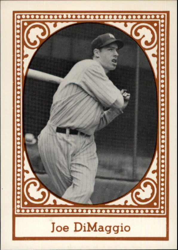 1980 Yankees Greats TCMA #7 Joe DiMaggio