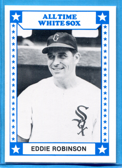 1980 White Sox Greats TCMA #12 Eddie Robinson