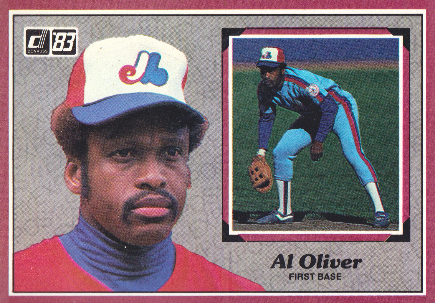 1983 Donruss Action All-Stars #6 Al Oliver
