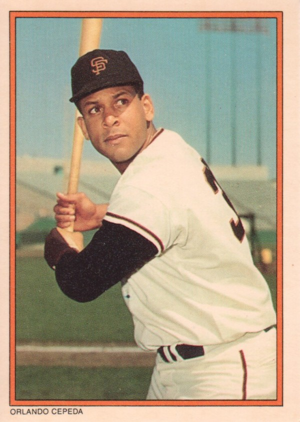 1985 Circle K #24 Orlando Cepeda