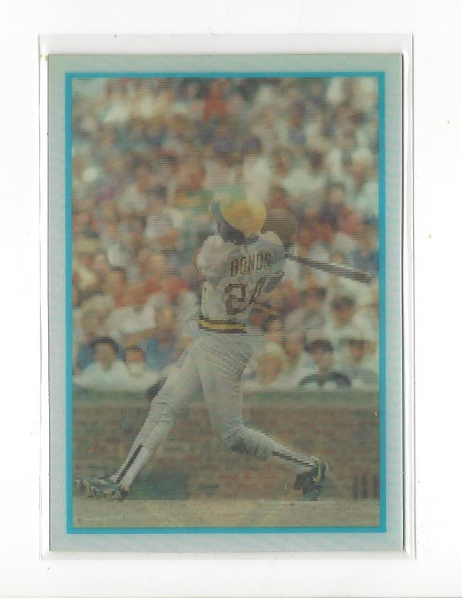 1986 Sportflics Rookies #13 Barry Bonds