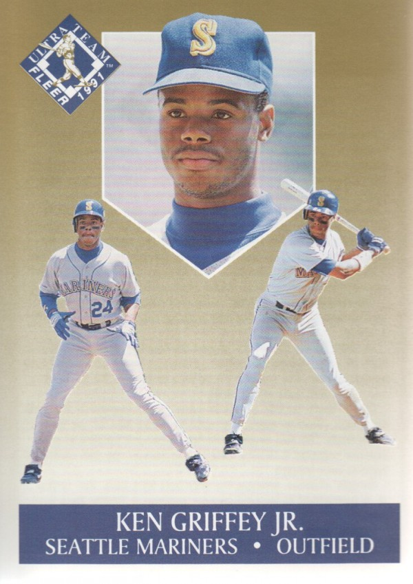 1991 Ultra Gold #4 Ken Griffey Jr.