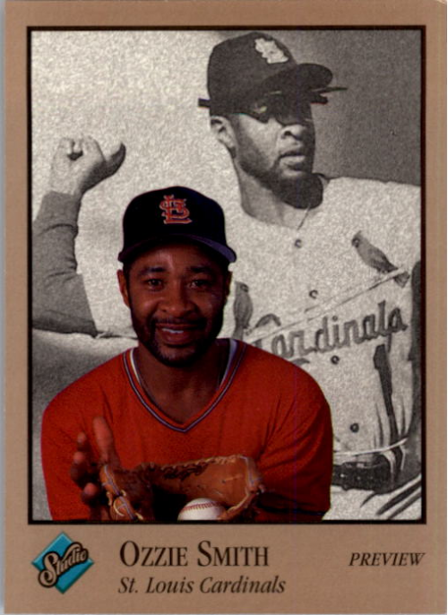 1992 Studio Previews #20 Ozzie Smith SP