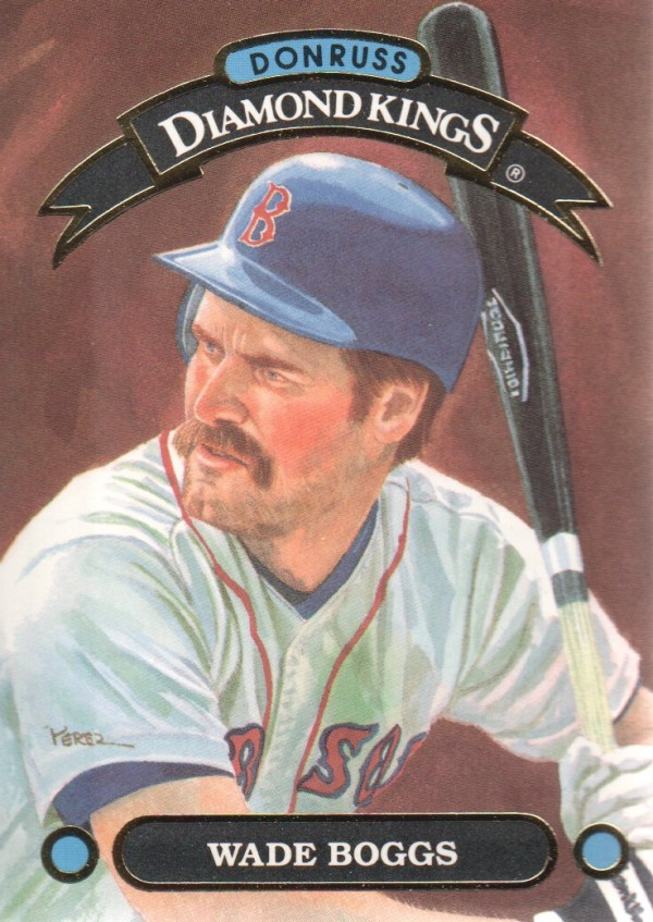 1992 Donruss Diamond Kings #DK9 Wade Boggs