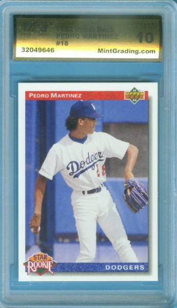 1992 Upper Deck #18 Pedro Martinez