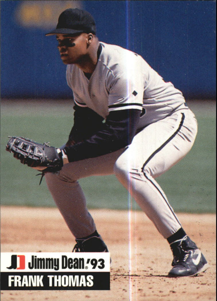 1993 Jimmy Dean #1 Frank Thomas