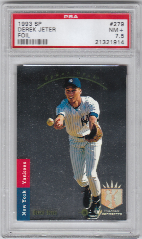 1993 SP #279 Derek Jeter FOIL RC !