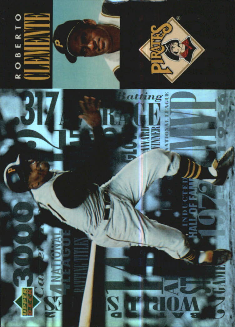 1994 FanFest Clemente #5 Roberto Clemente/Upper Deck Electric