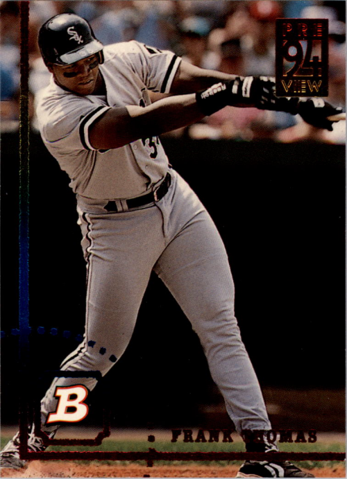 1994 Bowman Previews #1 Frank Thomas
