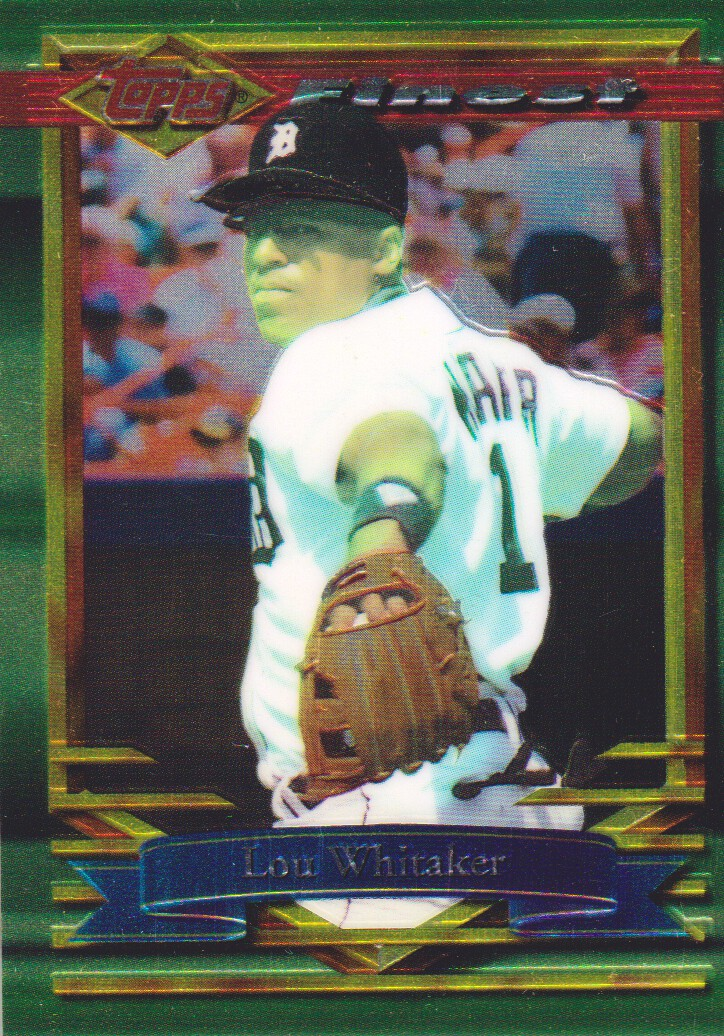 1994 Finest #364 Lou Whitaker