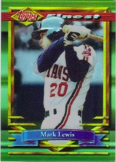 1994 Finest Refractors #91 Mark Lewis