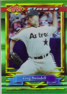 1994 Finest Refractors #99 Greg Swindell