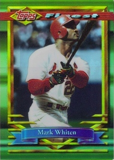 1994 Finest Refractors #116 Mark Whiten