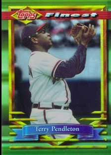 1994 Finest Refractors #118 Terry Pendleton