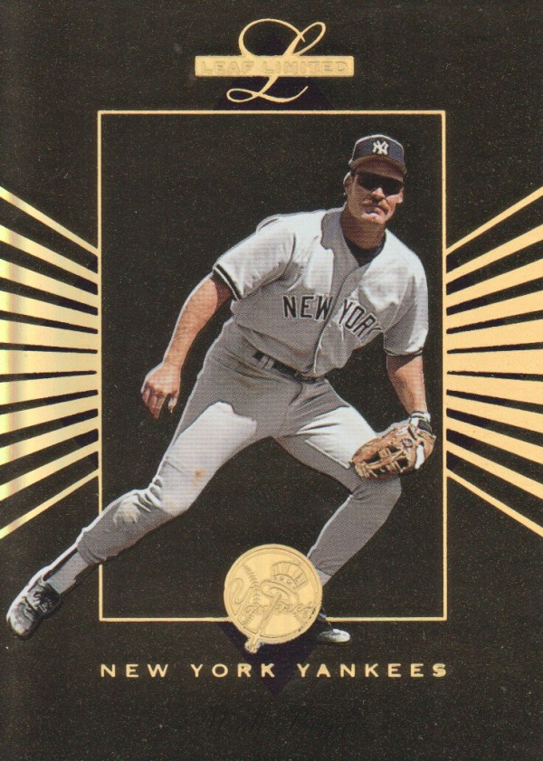 1994 Leaf Limited Gold All-Stars #5 Wade Boggs