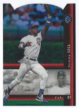 1994 SP Holoviews Die Cuts #37 Sammy Sosa