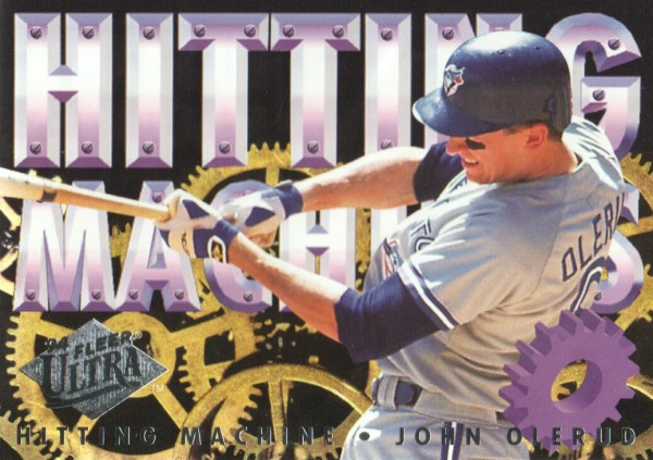1994 Ultra Hitting Machines #8 John Olerud