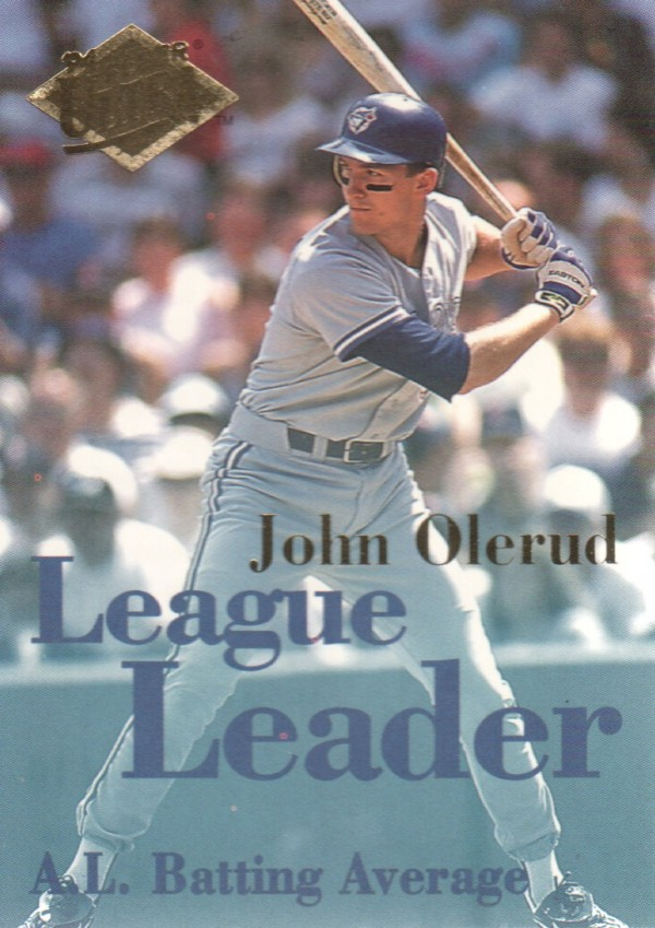 1994 Ultra League Leaders #1 John Olerud