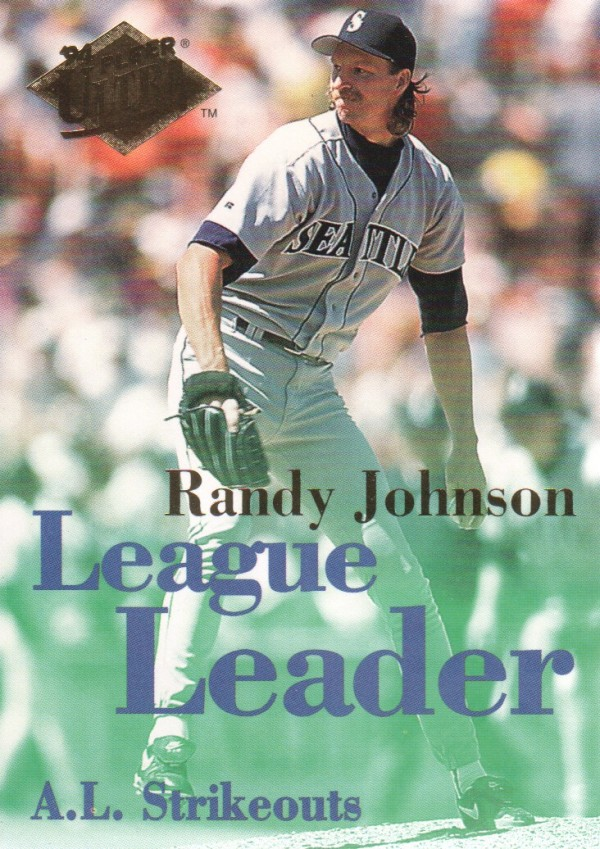 1994 Ultra League Leaders #5 Randy Johnson