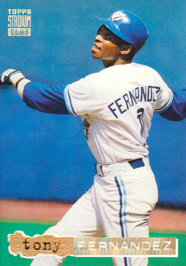 1994 Stadium Club Golden Rainbow #214 Tony Fernandez