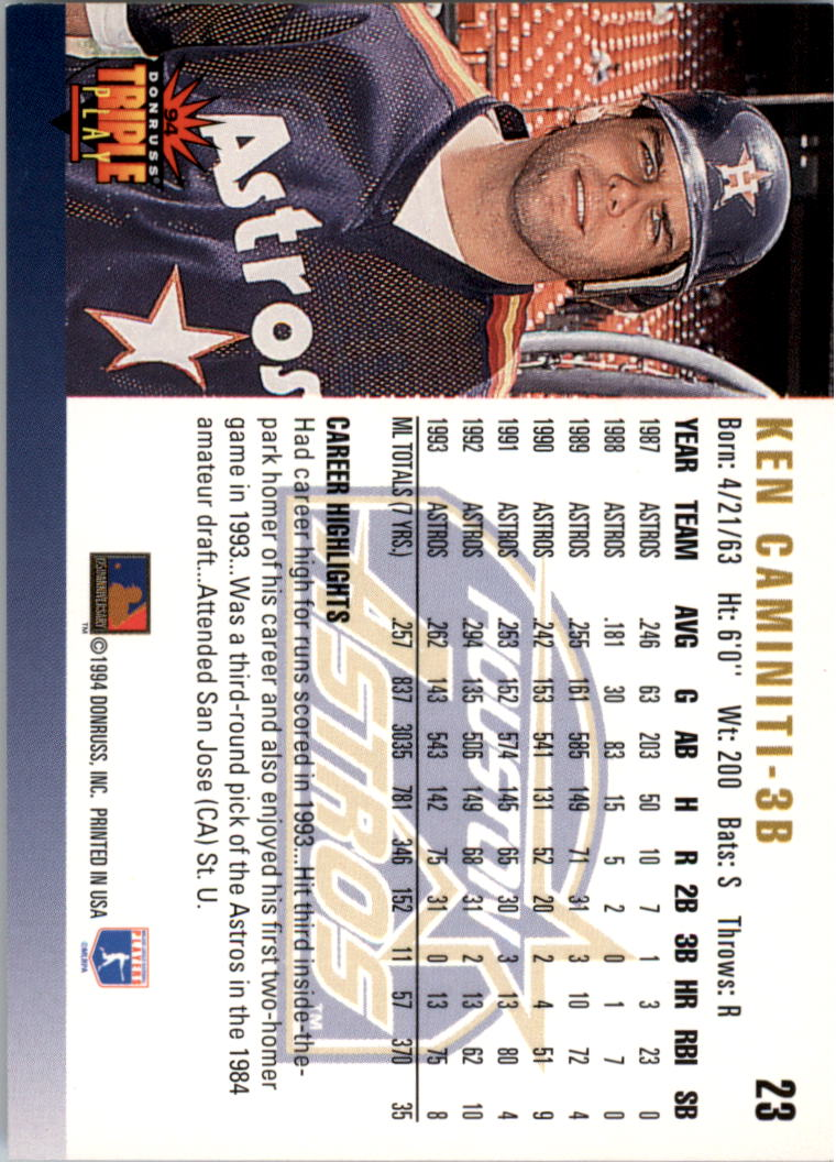 Details About 1994 Triple Play Baseball Card Pick