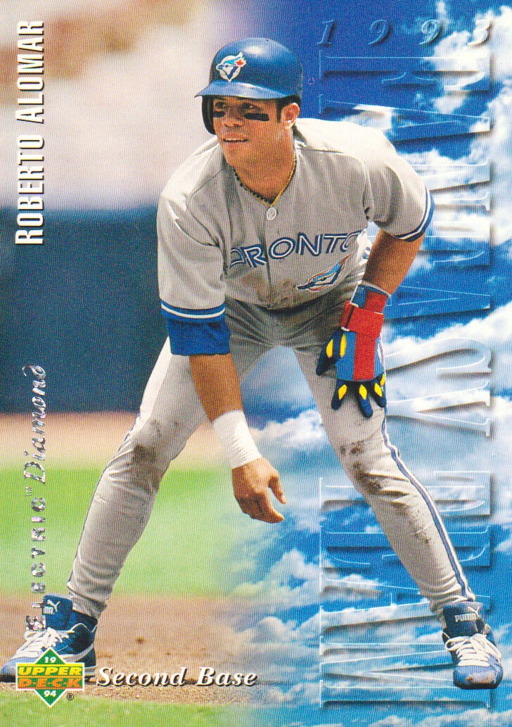 1994 Upper Deck Electric Diamond #35 Roberto Alomar FT