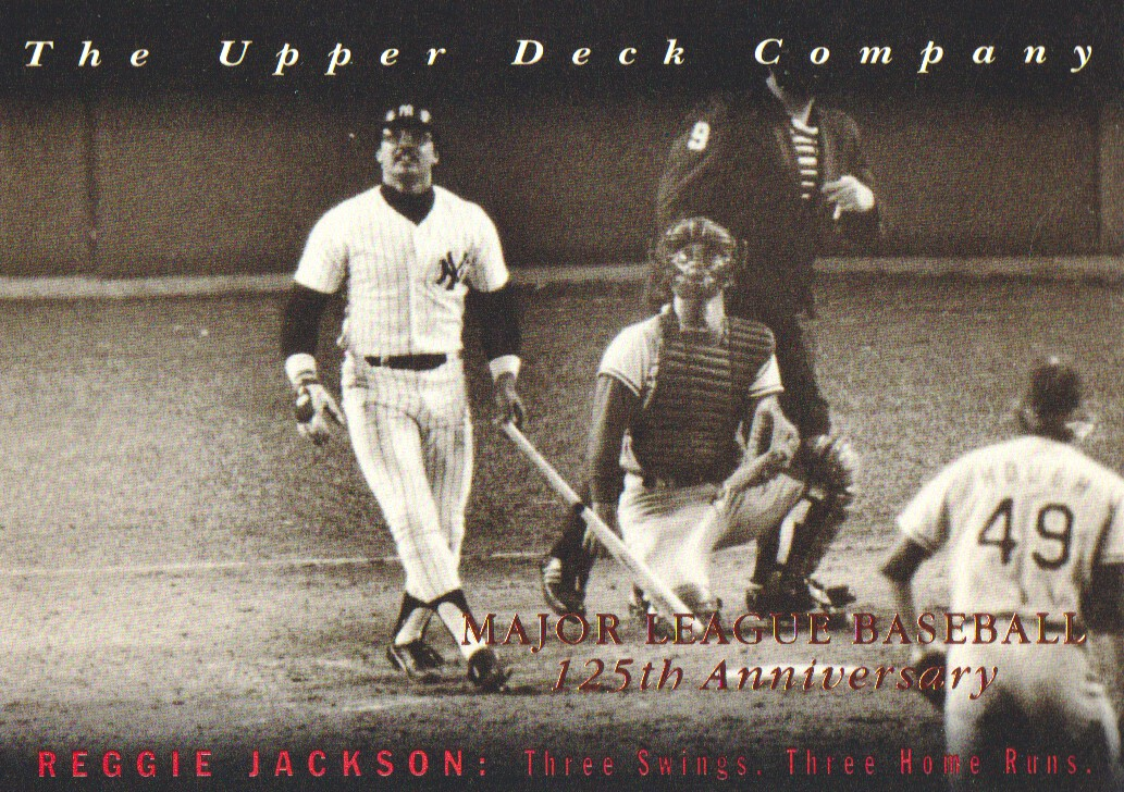 1994 Upper Deck All-Time Heroes 125th Anniversary #9 Reggie Jackson