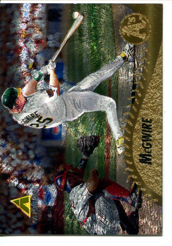 1995 Pinnacle Museum Collection #196 Mark McGwire