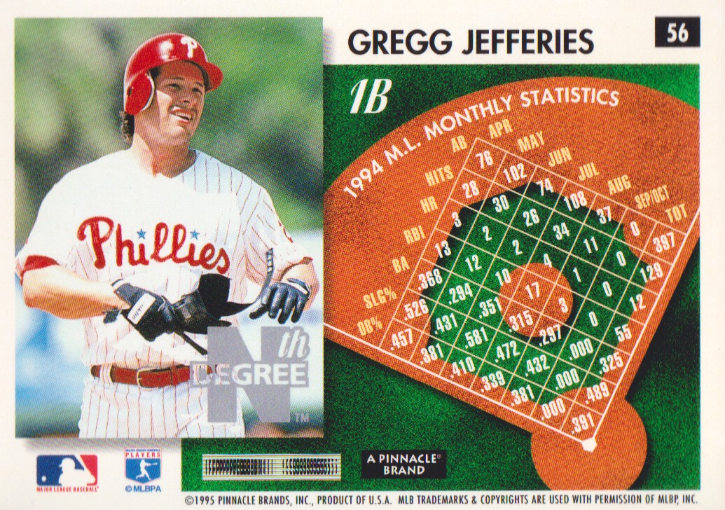 Details About 1995 Score Summit Edition Nth Degree Parallel Baseball Cards Pick From List