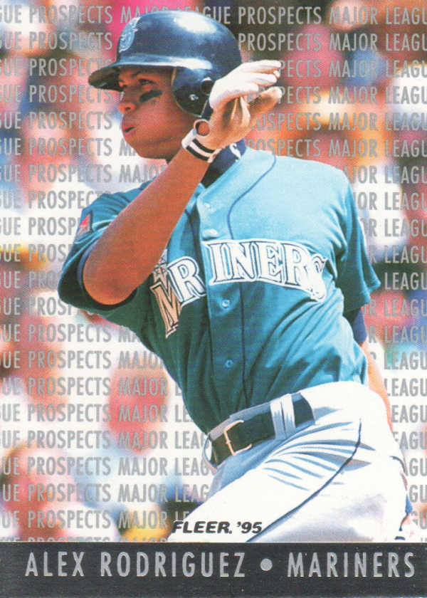 1995 Fleer Major League Prospects #10 Alex Rodriguez