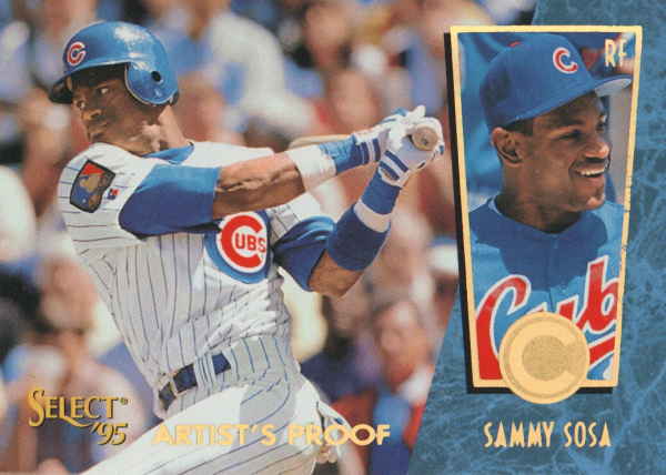 1995 Select Artist's Proofs #126 Sammy Sosa