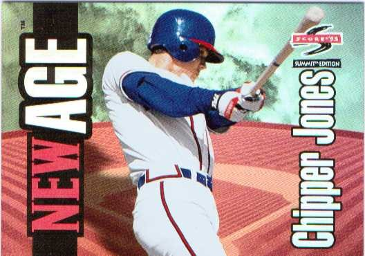 1995 Summit New Age #NA11 Chipper Jones