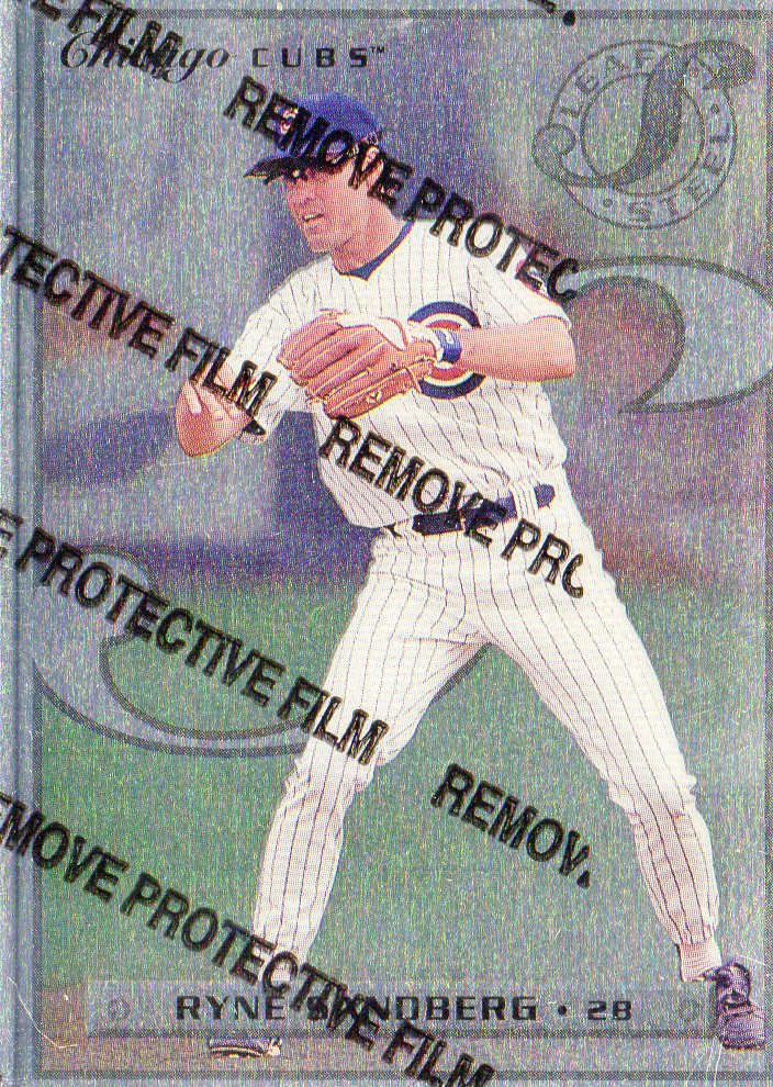 1996 Leaf Preferred Steel #66 Ryne Sandberg
