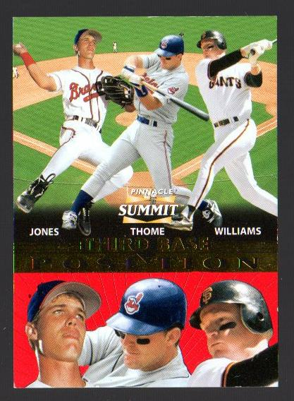 1996 Summit Positions #3 C.Jones/Thome/Williams