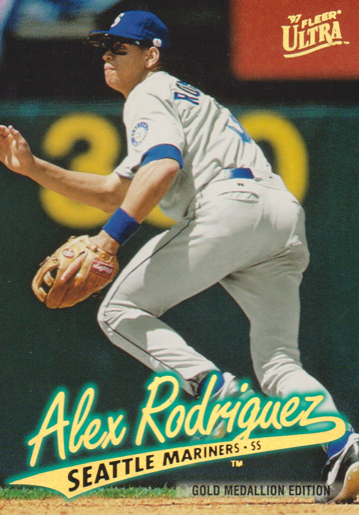 1997 Ultra Gold Medallion #126 Alex Rodriguez