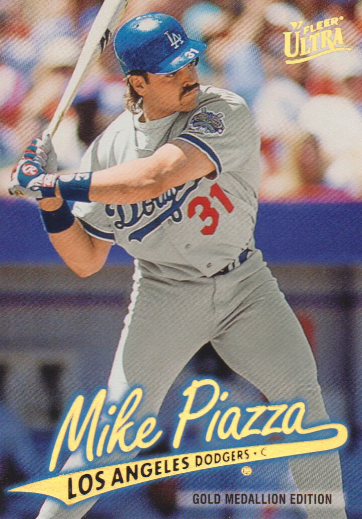 1997 Ultra Gold Medallion #223 Mike Piazza