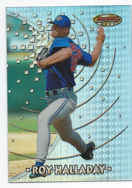 1997 Bowman's Best Refractors #134 Roy Halladay