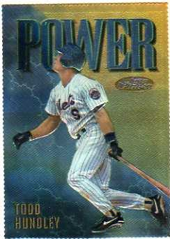 1997 Finest Embossed #171 Todd Hundley G