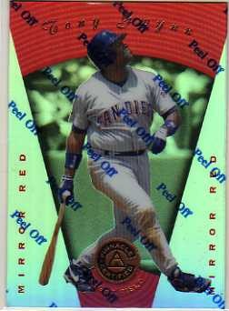 1997 Pinnacle Certified Mirror Red #45 Tony Gwynn