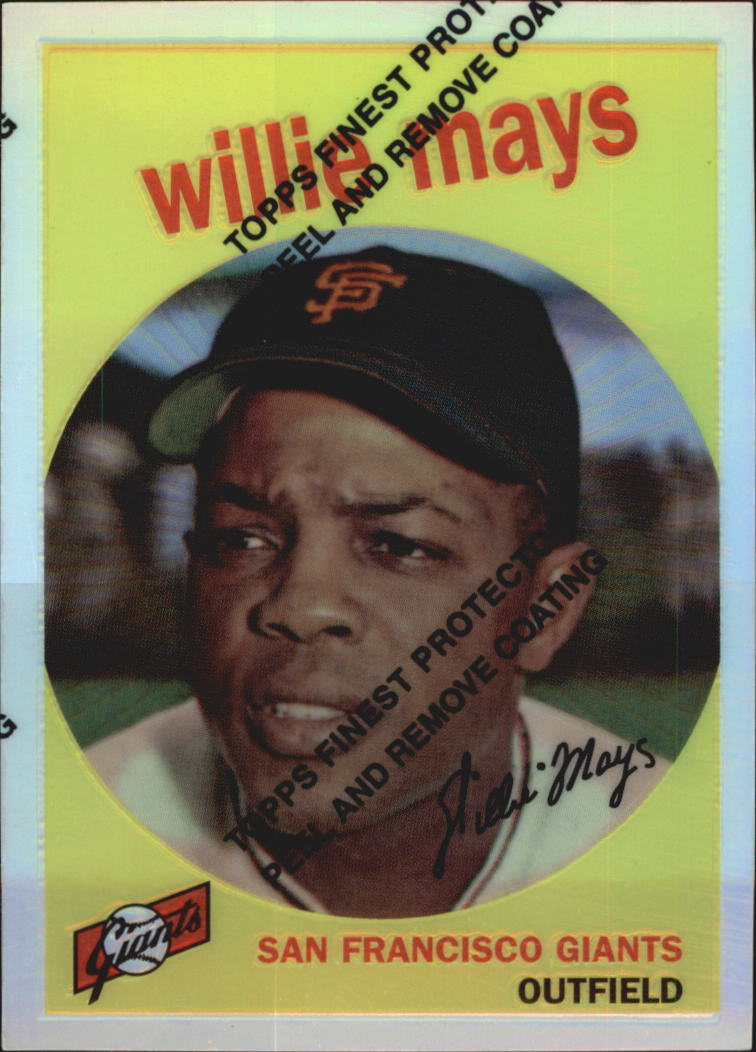 1997 Topps Mays Finest Refractors #11 Willie Mays