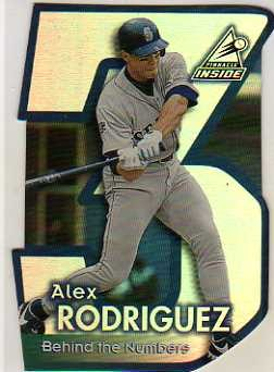1998 Pinnacle Inside Behind the Numbers #3 Alex Rodriguez