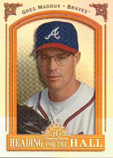 1998 Leaf Heading for the Hall #12 Greg Maddux