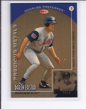 1998 Donruss Preferred Precious Metals #19 Darin Erstad