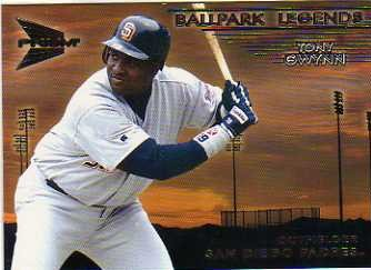 1999 Pacific Prism Ballpark Legends #10 Tony Gwynn