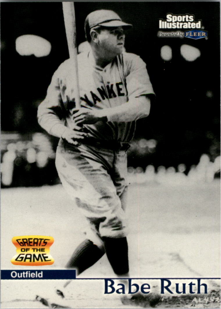 1999 Sports Illustrated Greats of the Game #3 Babe Ruth