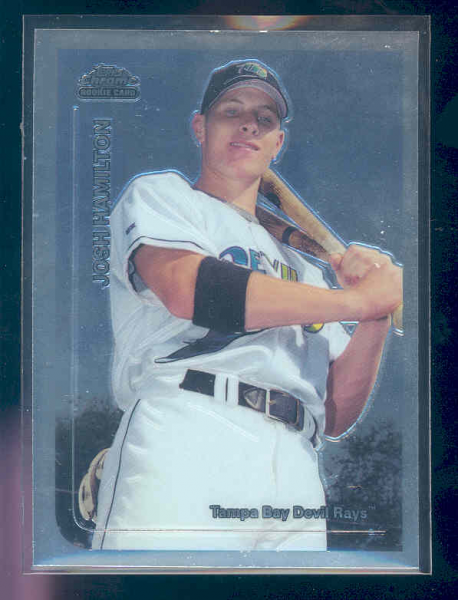 1999 Topps Chrome Traded #T66 Josh Hamilton RC
