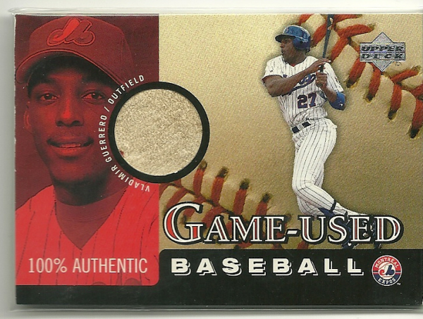 2000 Upper Deck Game Ball #BVG Vladimir Guerrero