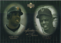 2000 Upper Deck Legends Reflections in Time #R7 B.Bonds/W.Mays front image